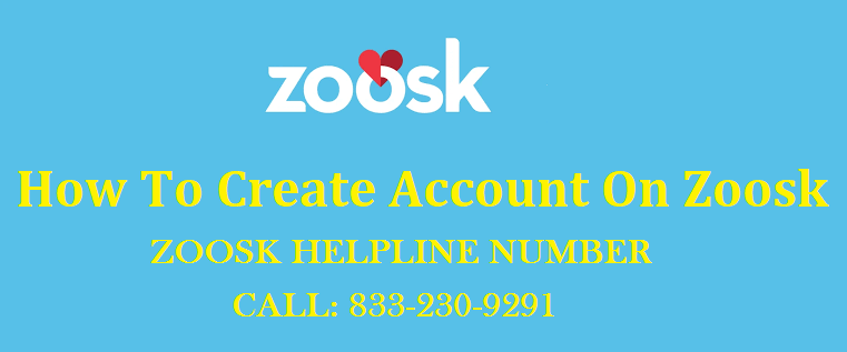 How To Create An Account On Zoosk - 833-230-9291