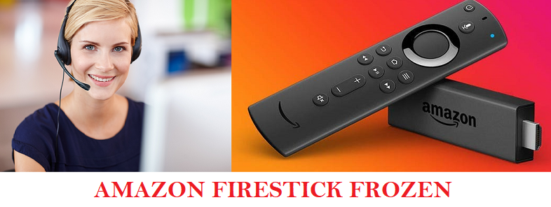 amazon fire stick frozen