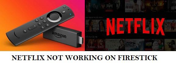 netflix not working on amazon fire tv